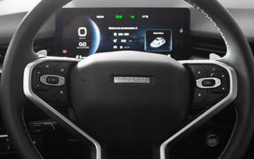 SUV Ambacar H6 tercera generación volante multifunción